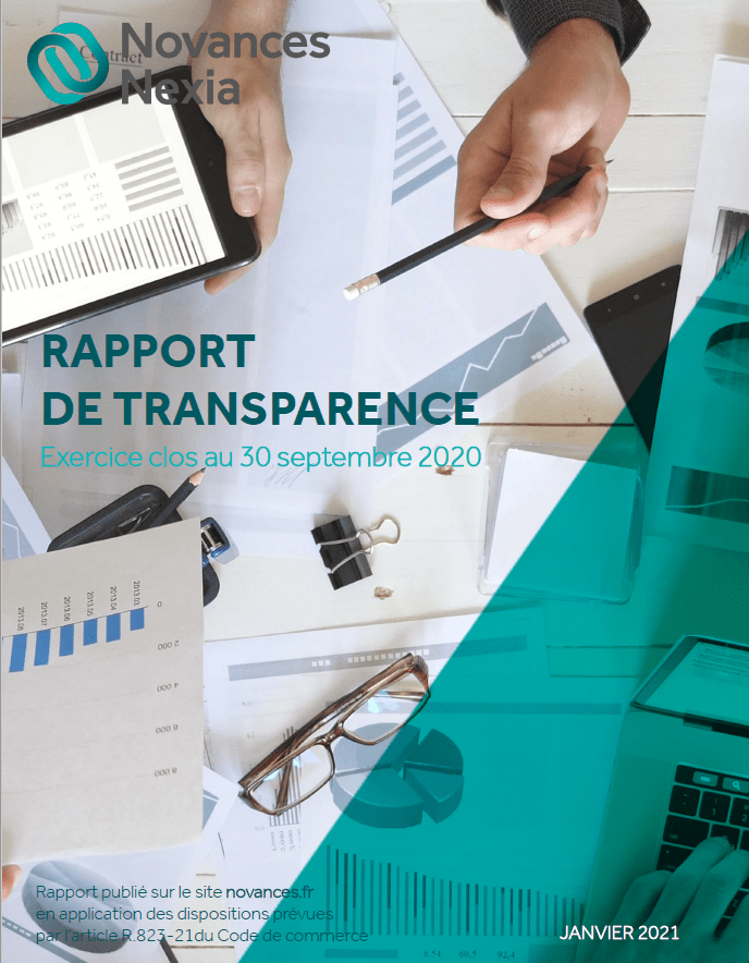 Rapport de transparence 2020 Novances